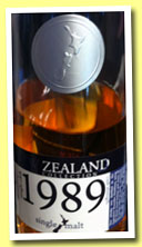 New Zealand Whisky 24 yo 1989/2013 (54.2%, OB, Willowbank, New Zealand, bourbon barrel, cask #57)