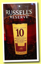 Russell's Reserve 10 yo (45%, OB, Wild Turkey, Kentucky straight Bourbon, +/-2014)