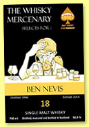 Ben Nevis 18 yo 1996/2014 (50,9%, The Whisky Mercenary for Whisky Troef)