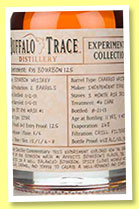 Buffalo Trace 2001/2013 Rye Bourbon 125 (45%, OB, Experimental Collection)