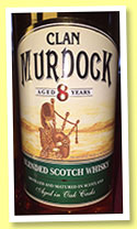 Clan Murdoch 8 yo (40%, Aldi, blended Scotch, +/-2014)