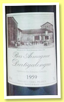 Dartigalongue 1959 (40%, OB, bas-armagnac, +/-2010)
