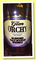 Glen Orchy 5 yo (40%, Lidl, blended malt Scotch, +/-2014)