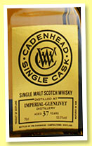 Imperial-Glenlivet 37 yo 1977/2014 (53.5%, Cadenhead, Single Cask)