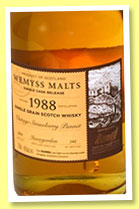 Invergordon 1988/2014 'Vintage Strawberry Punnet' (46%, Wemyss Malts, barrel, 242 bottles)