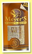 Meyer's Pur Malt (40%, OB, France, Alsace, single malt, +/-2014)