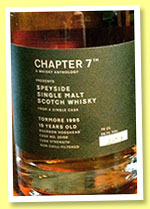 Tormore 1995/2014 (56.1%, Chapter 7, bourbon hogshead, cask #20159, 211 bottles)