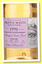 Blair Athol 1991/2014 'Foraged Fruit Fool' (46%, Wemyss Malts, barrel, 330 bottles)