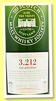 Bowmore 19 yo 1994/2014 (55.7%, Scotch Malt Whisky Society, #3.212, refill sherry butt, 'Anti-aphrodisiac', 534 bottles)