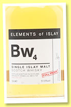 Bw4 (51.6%, Speciality Drinks Ltd, Elements of Islay, 2014)