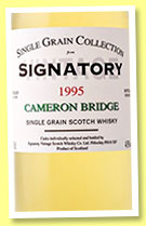 Cameronbridge 19 yo 1995/2014 (43%, Signatory Vintage, Single Grain Collection)