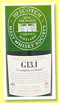 Chita 4 yo 2011/2014 (58.3%, Scotch Malt Whisky Society, Japanese single grain, #G13.1, virgin oak puncheon, 622 bottles)