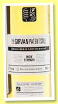 Girvan 'Patent Still – Proof Strength' (57.1%, OB, single grain, +/-2014)
