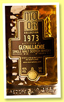 Glenallachie 37 yo 1973/2010 (46%,  Mo Or Collection, bourbon hogshead, cask #6746, 266 bottles)