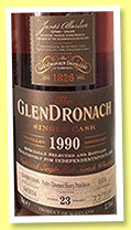 Glendronach 23 yo 1990/2014 (52.3%, OB for Independent Spirit, Pedro Ximenez sherry puncheon, cask #1374, 717 bottles)