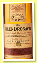 Glendronach 'Cask Strength' (54.7%, OB, batch 4, 2015)
