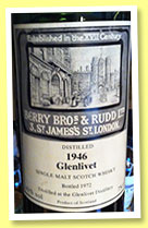 Glenlivet 1946/1972 (43%, Berry Bros and Rudd)