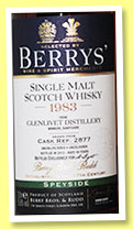 Glenlivet 30 yo 1983/2013 (58.8%, Berry Bros and Rudd, for A. Light, cask #2877)