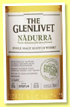 Glenlivet 'Nàdurra First Fill Selection Batch No. FF0714' (48%, OB, 2014)
