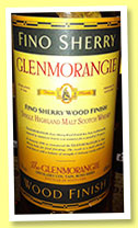 Glenmorangie 13 yo 'Fino Sherry Wood Finish' (43%, OB, +/-1996)