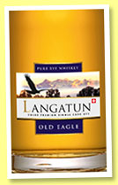 Langatun 4 yo 2010/2014 'Old Eagle' (44%, OB, Switzerland, rye, 300 bottles)