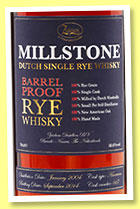 Millstone 2004/2014 (58.6%, OB, Holland, Zuidam, for The Whisky Exchange, cask #667, 245 bottles)