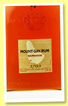 Mount Gay '1703' (43%, OB, Barbados, +/-2014)