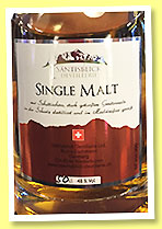 Säntisblick (48%, OB, Switzerland, single malt, +/-2014)