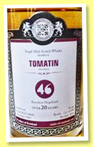Tomatin 20 yo 1993/2014 (46%, Malts of Scotland, bourbon hogshead, cask #MoS 14006, 198 bottles)