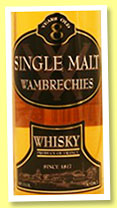 Wambrechies 8 yo (40%, OB, Distillerie Claeyssens, France, single malt, +/-2015)