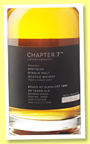 Braes of Glenlivet 20 yo 1994/2015 (50.4%, Chapter 7, bourbon barrel, cask #165681, 172 bottles)