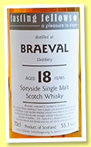 Braeval 18 yo 1994/2013 (55.3%, Tasting Fellows, barrel, cask #165661, 170 bottles)