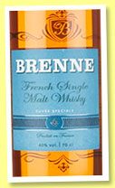 Brenne (40%, OB, France, single malt, +/-2015)