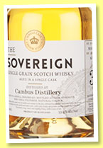 Cambus 30 yo 1985/2015 (53.4%, Hunter Laing, Sovereign, cask #11591,256 bottles)