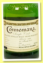 Connemara 8 yo 2001/2009 (59.2%, OB for Limburg, cask #K01/101196)