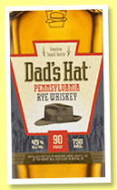 Dad's Hat 'Vermouth Barrel Finish' (47%, OB, Pennsylvania Rye, USA, +/-2014)