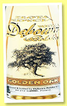 Debowa Polska Golden Oak Vodka (40%, OB, Poland,+/-2014)