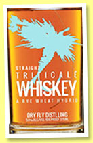 Dry Fly 'Triticale Whiskey' (44%, OB, USA, Washington state, +/-2015)