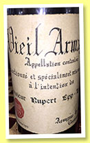 Goudoulin 1929/1972 (40%, OB, Armagnac, for Monsieur Ruppert Epp, Lucerne)