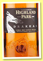 Highland Park 'Drakkar' (40%, OB, travel retail, +/-2014)