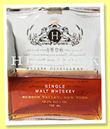Hillrock Estate 'Single Malt Whiskey' (48.2%, OB, New York grown barley, barrel #2, +/-2014)