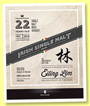 Irish Single Malt 22 yo 1991/2014 (48.6%, Eiling Lim)