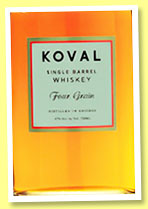 Koval 'Four Grain' (47%, OB, USA, +/-2015)