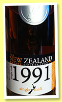 New Zealand Whisky 22 yo 1991/2013 (60.5%, OB, Willowbank, New Zealand, bourbon barrel, cask #135)