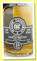 North British 29 yo 1985/2015 (46%, Cadenhead, Small Batch, single cask, 432 bottles)