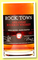 Rock Town 'Bourbon' (46%, OB, USA, Arkansas, +/-2015)