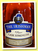 The Irishman 'Rare Cask Strength' (56%, OB, Irish, 1400  bottles, bottled 2008)