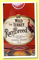 Wild Turkey 'Rare Breed' (56.4%, USA, bourbon, +/-2015)