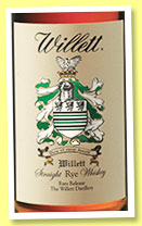 Willet 4 yo 'Single Barrel Rye' (55%, OB, USA, +/-2015)
