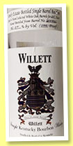 Willett 24 yo 1982 'Family Estate' (50%, OB, straight Kentucky bourbon, barrel #2007/31, 2007)
